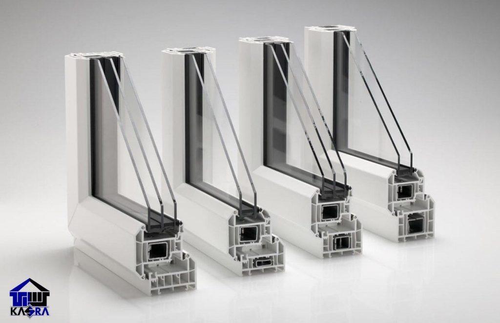 انواع پروفیل پنجره upvc