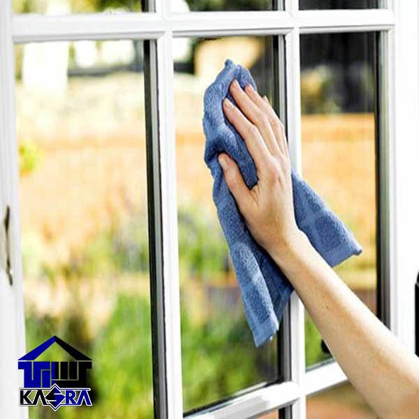 تمیز کردن پنجره