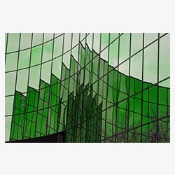 شیشه_4_میل_رفلکس_سبز