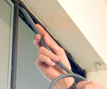 پروفیل های لاستیک دار پنجره upvc 1