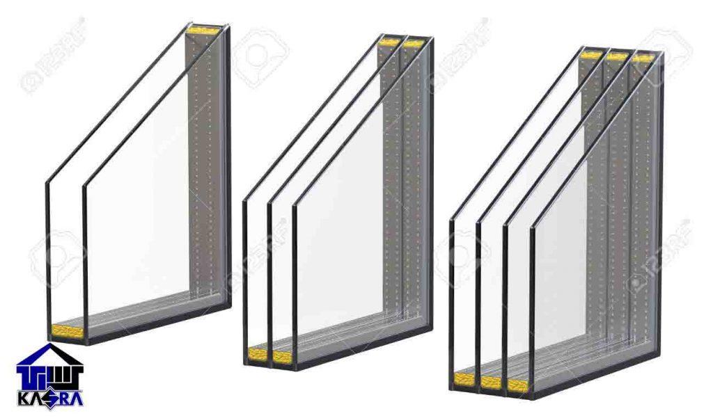 شیشه دوجداره و سه جداره